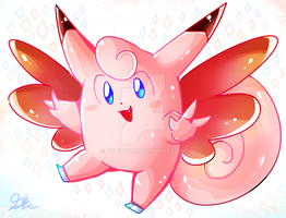 Clefable by Pypixy