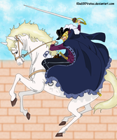 One Piece Manga 722 - White Horse Cavendish by KhalilXPirates