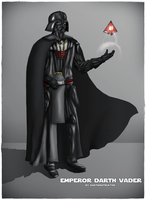 Emperor Darth Vader by DarthDestruktor