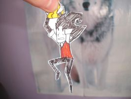 Wilson want gold by ProfessorLucario9