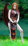Lamia Leather Demon Costume by BruteForceStudios