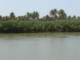 Euphrates river 1 by spring-sky