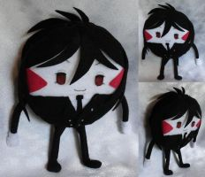 One Hell of a Peppermint Butler Plushie by ThePlushieLady