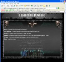 Linkin Park Fansite design by Soulburned