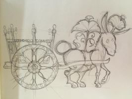 Sicilian Carretto (a traditional donkey cart) by Farshore