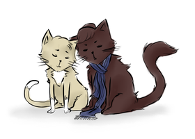 BBCSher: Kitties by CheerUpYouEmos1243