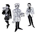 Blackadder through the ages by kazzer-doom