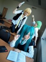 Vocaloid: Bad Guys by ennfranco
