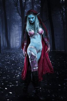 Sylvanas Body Paint by oldmacman