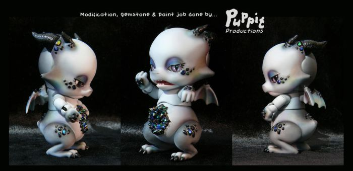 Commission: Mod and blush Aileendoll Pico Ashes by PuppitProductions