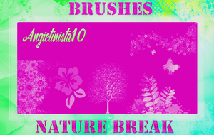 Brushes Nature Break by AngieTinista10