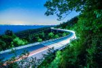 linn cove viaduct at night in north carolina usa by digidreamgrafix