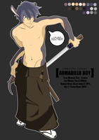 HentaiRPG: Armadillo Boy by nerdyridbug
