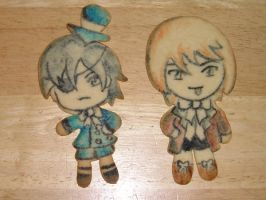Black Butler Cookies by AnimeGeer