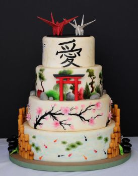 2014 ACF Wedding Cake by Kiilani