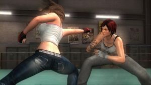Boxing Ring: Hitomi vs Mila 11 by SwarmlordTrainee