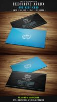Executive Brand - Business Card by VectorMediaGR