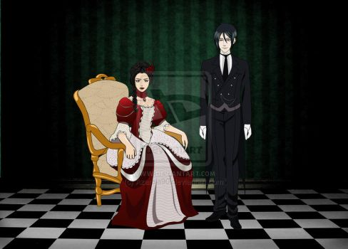 Her Butler, In Contract (by Azarela90) by galateabellator