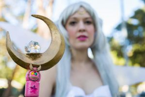 Queen Serenity: Wielder of the Moon Wand by Oreparma