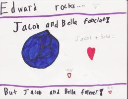 Jacob and Bella forever by KelsPOP