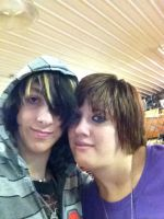 Me and my fiance by DarkendDrummer