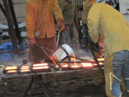 Iron Pour III by spockmou