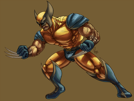 Wolverine WIP by Omegaro