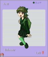 Bulbasaur-Pkmn Gijinka Project by Foxy-Sierra