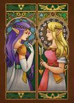 Link Between Princesses by ChrisWithATa