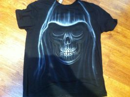 Skull T-Shirt by BoaGrafix