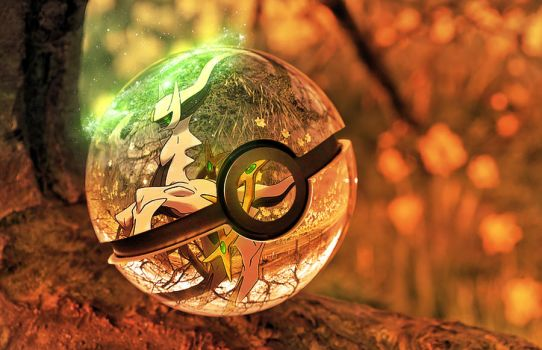 The Pokeball of Arceus by wazzy88