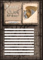 XP tracker | light | Caristania | solider by sprite-light