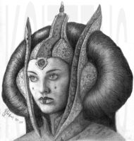 Queen Amidala by TheMeltingEye