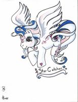 StarCatcher the Pegasus Pony by The-Dude-L-Bug