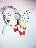 Marilyn Monroe by SneakiestBanana