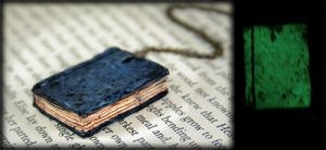 Beloved Book locket Glow?? by NeverlandJewelry