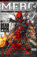 Deadpool on Mercenary Weekly by jamietyndall