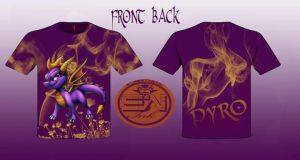 pyro the dragon by StreetWearinc