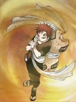 Gaara of the Sand by Blackjack01