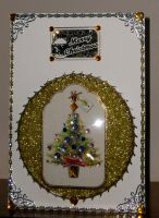 Xmas Tree In A Bubble Card by blackrose1959