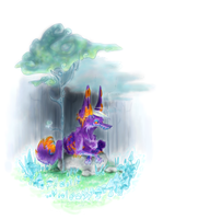 glow woods by PlasticRabbits