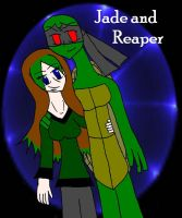 Jade and Reaper by RaditzDaughter