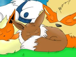 Sleepy Pokemon By Sexyback by sexyback2010