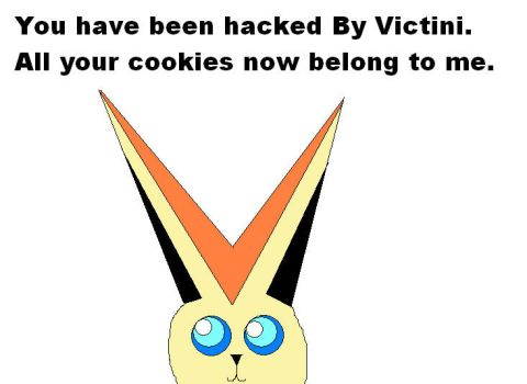 Hacked. by Victini000