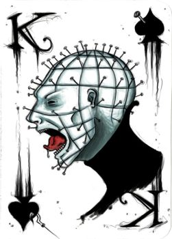 King Pinhead by pyroness