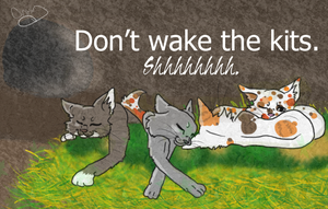 Don't Wake the Kits by TangledInInk