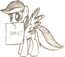 Three Years of Pony by Mortris