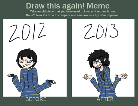 Improvement Meme by CommonDusty