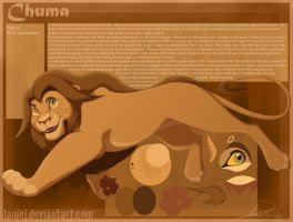 Chuma Character Reference by LanieJ