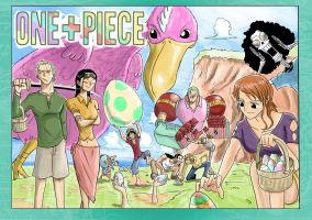 One Piece: Mugiwara Egg Hunt by vonmatrix5000